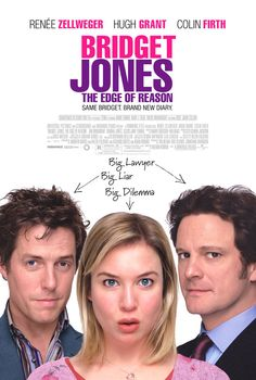 Bridget Jones - Edge of Reason (fin. Bridget Jones - Elämä jatkuu), starring Renée Zellweger, Colin Firth and Hugh Grant. Bridget Jones Diary 2, Bridget Jones Movies, Beau Film, Colin Firth, Jane Austen Movies, Romantic Comedy Movies, Kino Film, Renee Zellweger, See Movie