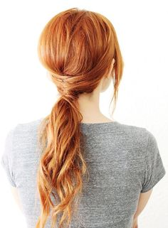 8 Quick and Easy Hairstyles (No Heat Required) via @ByrdieBeauty