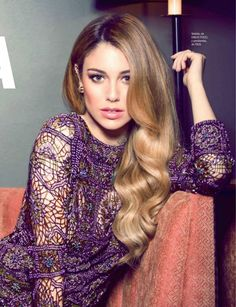 #Fabric Blanca Suarez for Cosmopolitan Spain April 2015 emilio pucci