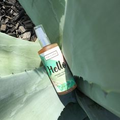 True and Olive Hello Organic Facial Cleanser