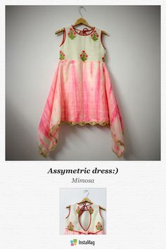 Pink emb If you are whatever for instance united states, you know that it's not Kids Indian Wear, Kids Ethnic Wear, Kids Frocks, Frocks For Girls, Little Girl Fashion, Kids Fashion, Frocks And Gowns, Kids Wardrobe, Baby Couture