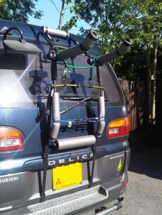 Mitsubishi Delica Owners Club UK™ :: View topic - Bike rack on the Delica…