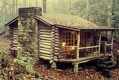 log cabins   One-Room Log Cabins Are Cozy, Cheap, And Environmentally Friendly ...