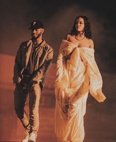 Rihanna ∞ — Rihanna & Bryson Tiller on set of DJ Khaled's...