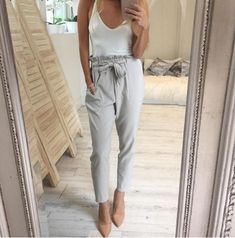 These trousers are so chic. http://ss1.us/a/xufgzJYr