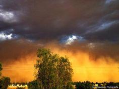 Dust Storm in Arizona 2012 #ConnieHernandezPhotography #Arizona #DustStorm