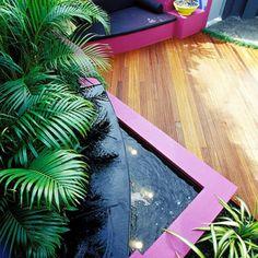 Cultivart Landscape Design's Design Ideas, Pictures, Remodel, and Decor - page 5 Bali Garden, Balinese Garden, Garden Beds, Tropical Garden Design, Tropical Backyard, Tropical Gardens, Small Gardens, Small Yard Landscaping, Tropical Landscaping