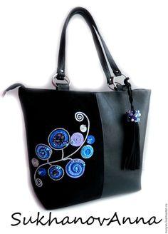 Handmade Handbags, Handmade Bags, Postman Bag, Tie Dye Crafts, My Style Bags, Floral Bags, Patchwork Bags, Beaded Bags, Denim Bag