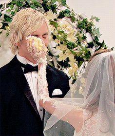 This auslly wedding got to me not gonna lie