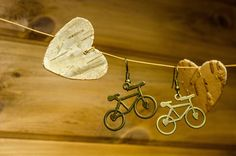 Bicycle Earrings by KamalaHandcraft https://www.etsy.com/ca/listing/540723076/bicycle-earrings-free-shipping?ref=shop_home_active_3