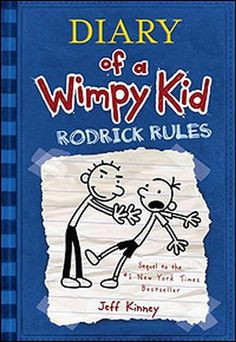 Diary of a Wimpy Kid! #Blue #ReadingRainbow