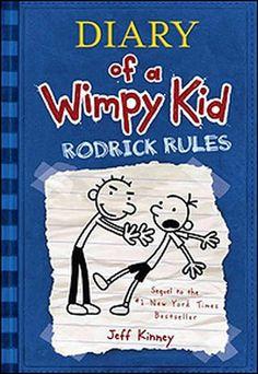 Diary of a Wimpy Kid! #Blue #ReadingRainbow