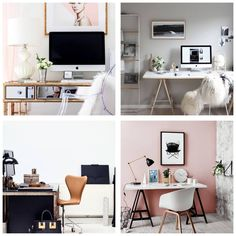 10 Office Styles of Practical and Successful People http://jetsetjustine.com/10-office-decor-styles-of-practical-and-successful-people/