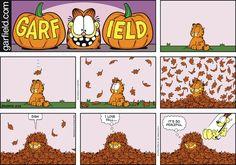 Garfield Comic Strip, October 25, 2015     on GoComics.com