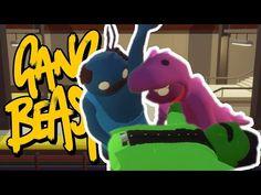 BARNEY ATTEMPTS CPR!!! | Gang Beasts Online w/ DanTDM, ThnxCya - YouTube