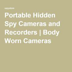 Portable Hidden Spy Cameras and Recorders | Body Worn Cameras Spy Store, Spy Equipment, Body Worn Camera, Hidden Spy Camera, Cameras, Spy Gear, Camera, Film Camera
