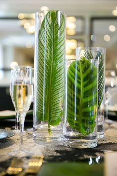 Glamorous Styled Shoot at the Goodwin Hotel - Perfete Decoration Hawai, Decoration Table, Tropical Decor, Tropical Interior, Tropical Wedding Decor, Tropical Colors, Tropical Flowers, Deco Floral, Luau Party