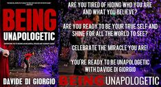 Being Unapologetic, Empowering You to Become an Influential Speaker and Visionary Leader by Davide Di Giorgio book tour badge https://beckvalleybooks.blogspot.com/2018/07/being-unapologetic-empowering-you-to.html