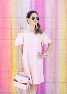 Get inspired by Jenn's Chic pretty in pink ensemble