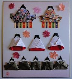 【彩りレシピ】ひな祭り・桃の節句の食卓 テーブルコーディネート【3月】 - NAVER まとめ Origami, Hina Matsuri, Hina Dolls, Child Day, Diy And Crafts, Japanese, Seasons, Holiday Decor, Carp