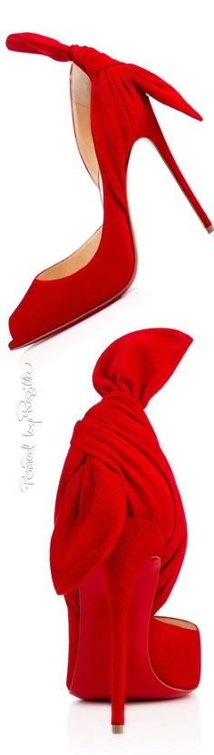 """Regilla ⚜ Christian Louboutin #redshoes #red #shoes.......Follow Red Shoes: https://www.pinterest.com/lyndanna/red-shoes/... Get Your Free Course """"Viral Images for Pinterest"""" Now at: CashForBloggers.com"""