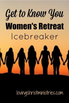 Looking for a great way to mix and mingle at your next retreat? This Get to Know You icebreaker activity is a super fun women's retreat icebreaker. Icebreaker Activities, Group Activities, Group Games, Leadership Activities, Icebreaker Questions, Icebreakers For Meetings, Women Empowerment Activities, Sisterhood Activities, Ministry Leadership