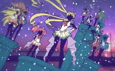 Sailor Moon Crystal III opening fan art