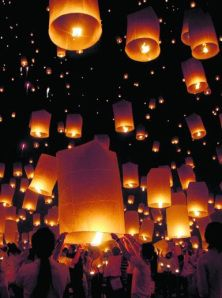 Release Floating Lanterns at My Own Wedding!