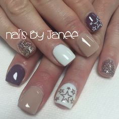Star nails by janee