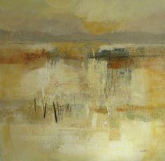 Rising Moon - 800 x 800 - acrylic on canvas (Strydom Gallery) Fiona Rowett