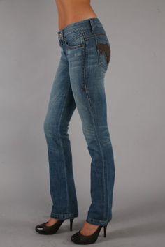 ANT-wpn22097 Antik Straight Leg by Antik Denim Jeans (Women Antik)- cute jeans in larger sizes