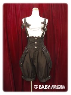 How come I can't have this for halloween? Lolibrary | Alice and the Pirates - Salopette - Prince Grizabella Salopette Pants