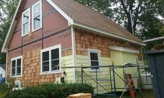 Shakes in Moultonborough Carpentry Jobs, Garage Doors, Outdoor Decor, Home Decor, Decoration Home, Room Decor, Home Interior Design, Carriage Doors, Home Decoration
