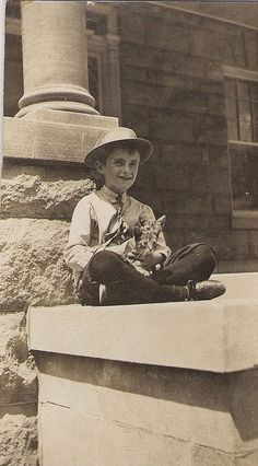 boy with kittens by 912greens, via Flickr