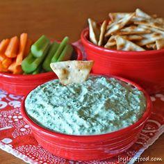 Kale and Artichoke Greek Yogurt Dip