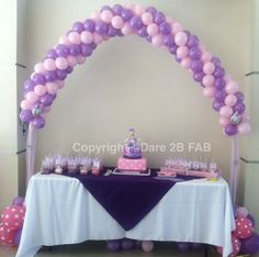 Daisy Duck Themed Baby Shower