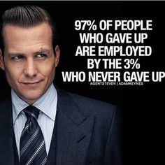Wise words of Harvey Specter …