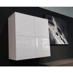 Zwevend tv meubel cameron 200cm mat wit idee n voor het huis pinterest tvs en producten - Eigentijdse designkast ...