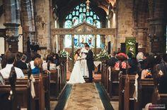 St Peter's Church, Prestbury Village wedding ceremony