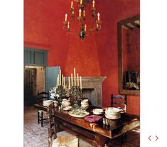 Traditional Dining Room by Anne-Marie Midy in San Miguel de Allende, Mexico Style Hacienda, Mexican Hacienda, Hacienda Decor, Mexican Colors, Mexican Style, Mexican Home Decor, Mexican Decorations, Spanish Style Homes, Spanish Colonial