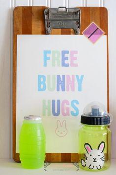 Free Bunny Hugs Prin