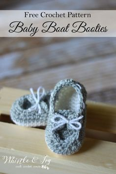 Baby Boat Booties
