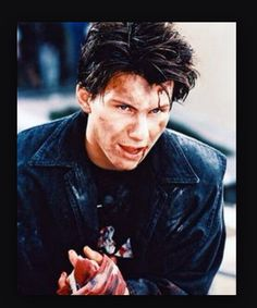 Pain - Christian Slater, blood, guy, hot, sad, film, crazy, trauma, fight, bruised, darkness,
