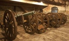 One of the largest private weapon collections in Europe testifies to the military tradition and endeavours of the Esterházy family as loyal allies of the Habsburgs. Cannon, Austria, Weapons, Guns, Castle, Europe, Iron, History, Travel