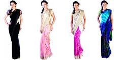 Evening wear saree collection from KBSH