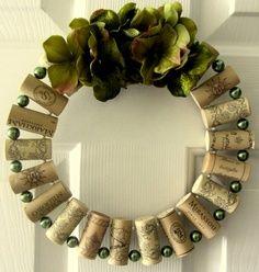 Cork Wreath Tutorial | Wreaths