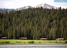 Luxury Cabin Rentals in West Yellowstone | Luxury Camping in Montana