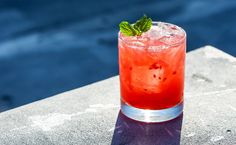 Bruja Smash 1 ounce tequila 1 ounce Strega 1/4 ounce lemon juice 6-9 mint leaves 4-6 raspberries simple syrup to taste Garnish: Mint sprig