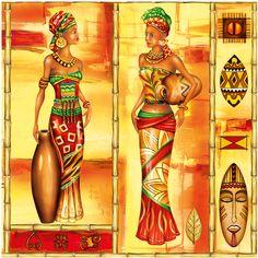 Картинки для декупажа африка