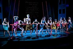 SWEET CHARITY  book by Neil Simon, Lyrics by Dorothy Fields, Music by Cy Coleman    Princeton Day School  McAneny Theater    Director: Stan Cahill  Lighting: Joshua Benghiat  Set: Jeffrey VanVelsor  Costumes: Sarah Gosnell